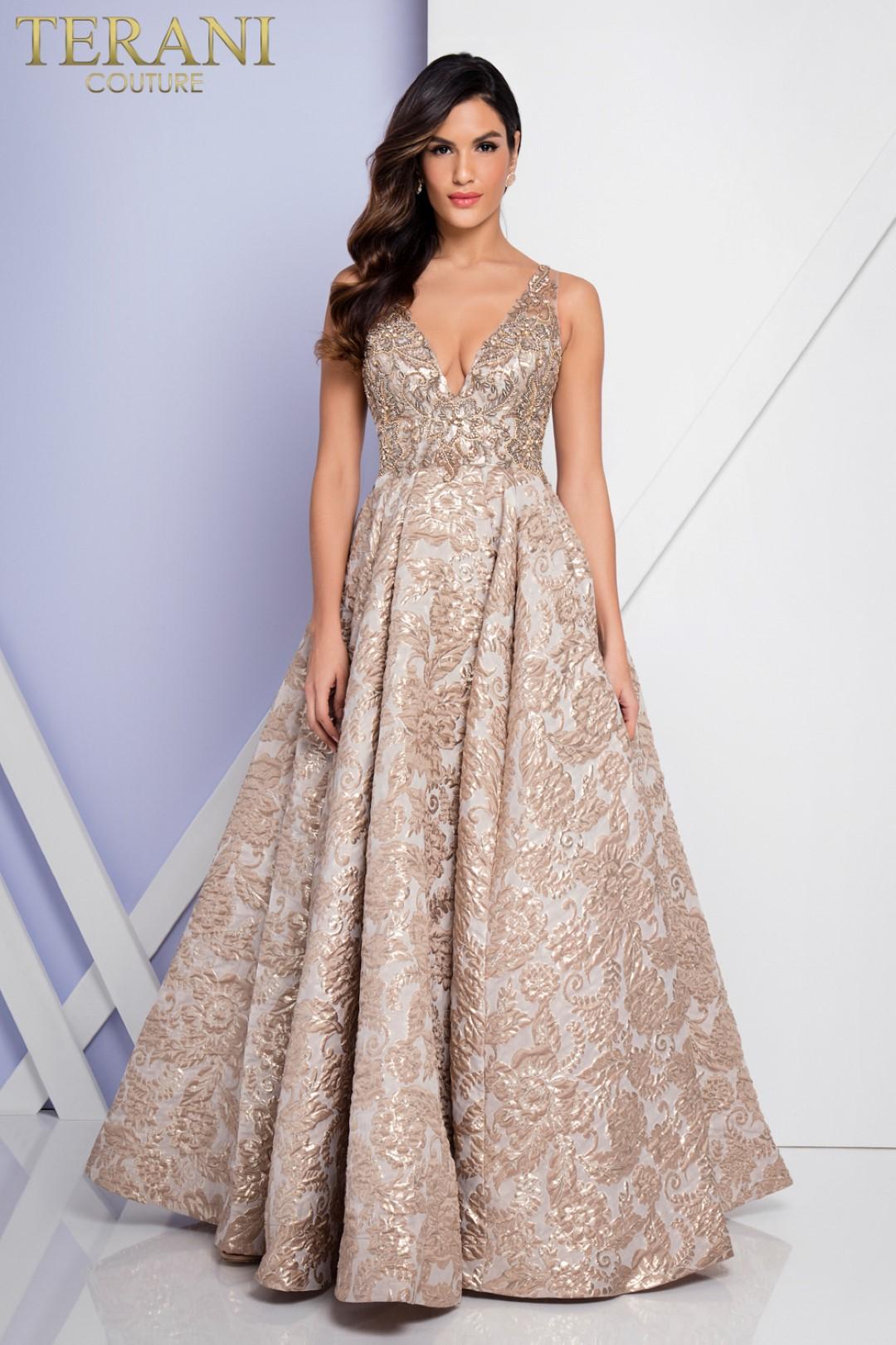 Terani 1721e4145 Tv Awards Dress Red Carpet Gown
