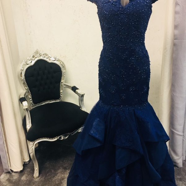 JASZ COUTURE 6219 NAVY