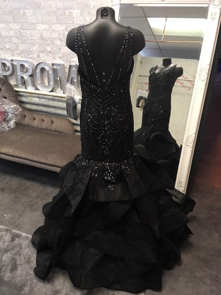 JASZ COUTURE 6258 BLACK BACK