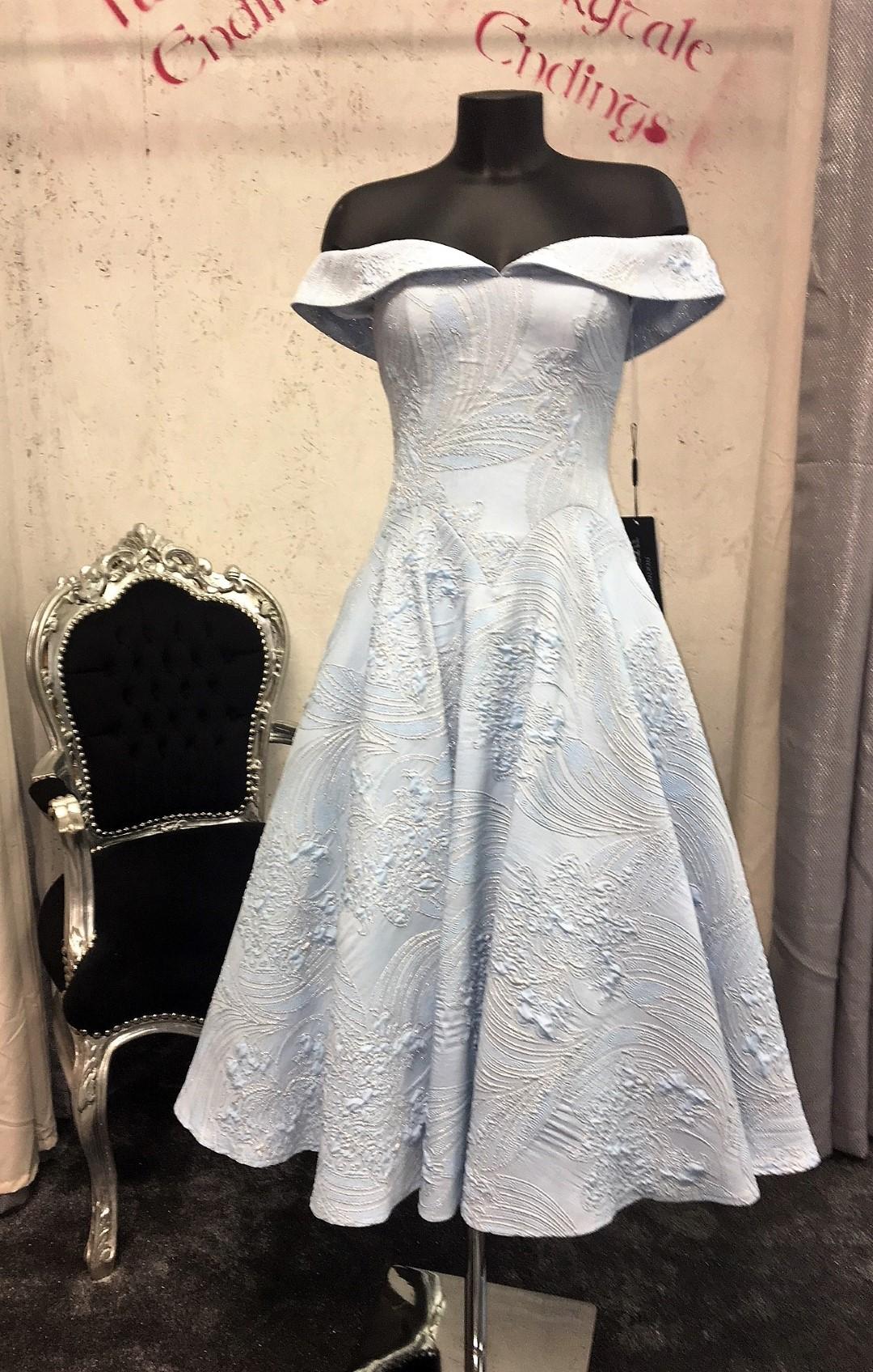 Pia Michi 1876 Pia Michi Bardot Dress Race Day Dress