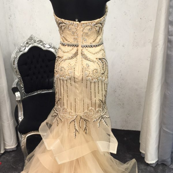 JASZ COUTURE 6233 CHAMPAGNE BACK