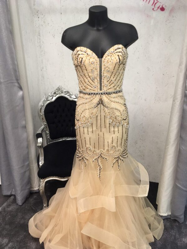 JASZ COUTURE 6233 CHAMPAGNE