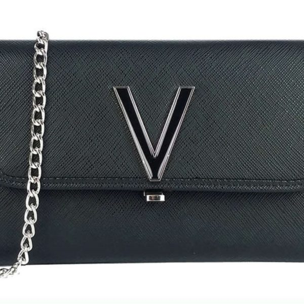 VALENTINO FLASH NERO CLUTCH BLACK