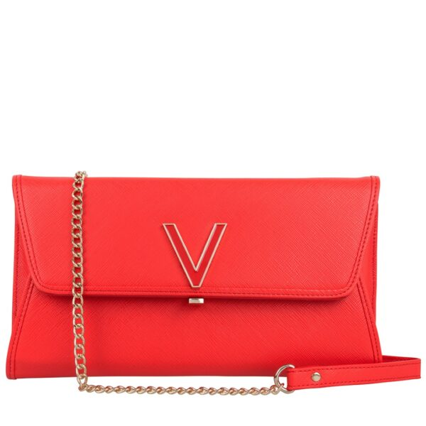 VALENTINO FLASH ROSSO CLUTCH