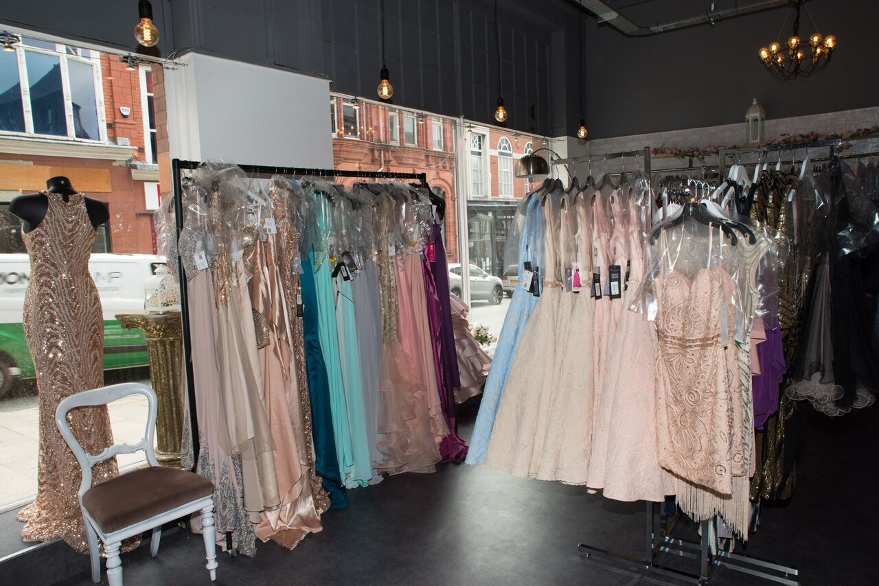 When should I start shopping for prom dresses selection of dresses in shop