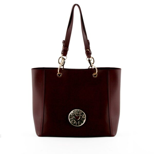 valentino olympia tote bag bordeaux