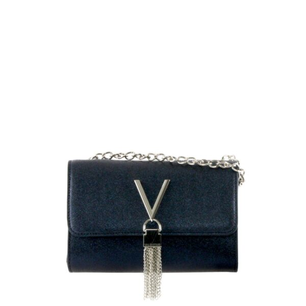 VALENTINO MARILYN CLUTCH NAVY