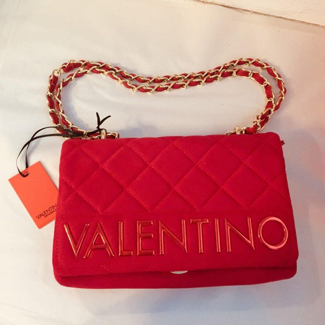 6f16ed5dba6 VALENTINO ARRIVAL SATCHEL BAG RED | SHOPPER SATCHEL RED