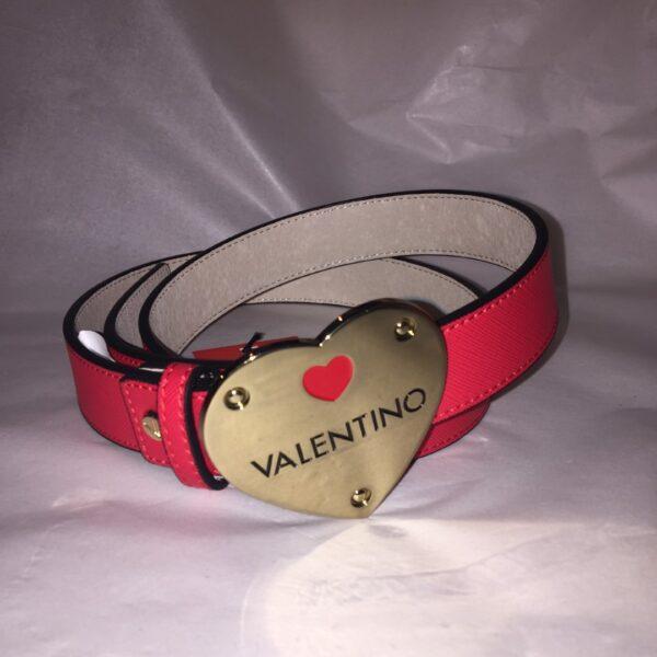 valentino zelig belt red