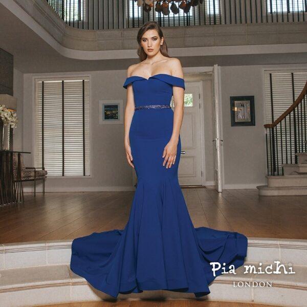 pia michi 1936 royal blue