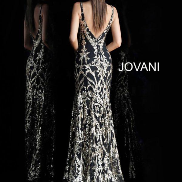 JOVANI 63350 BACK