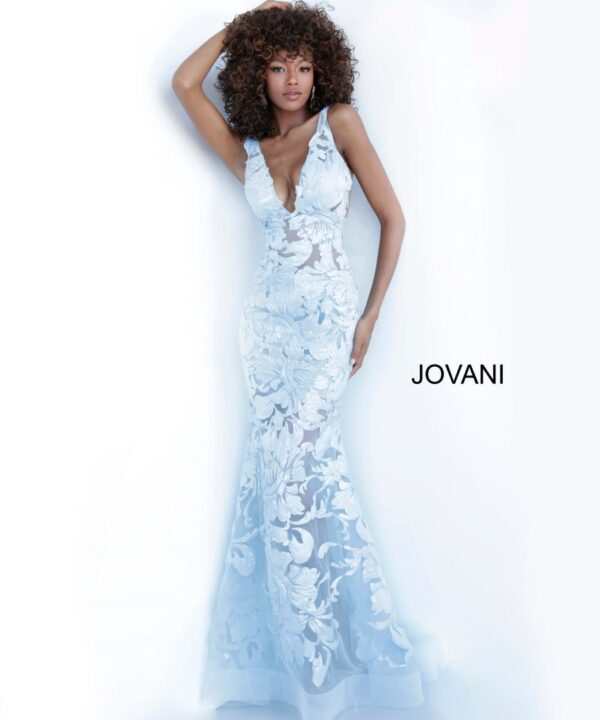 JOVANI 60283 LIGHT BLUE