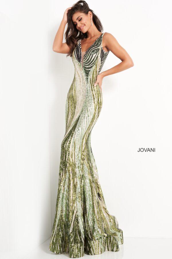 JOVANI 05103 GREEN