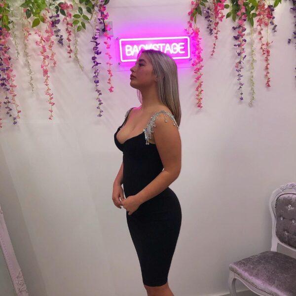 LOLA DRESS BLACK