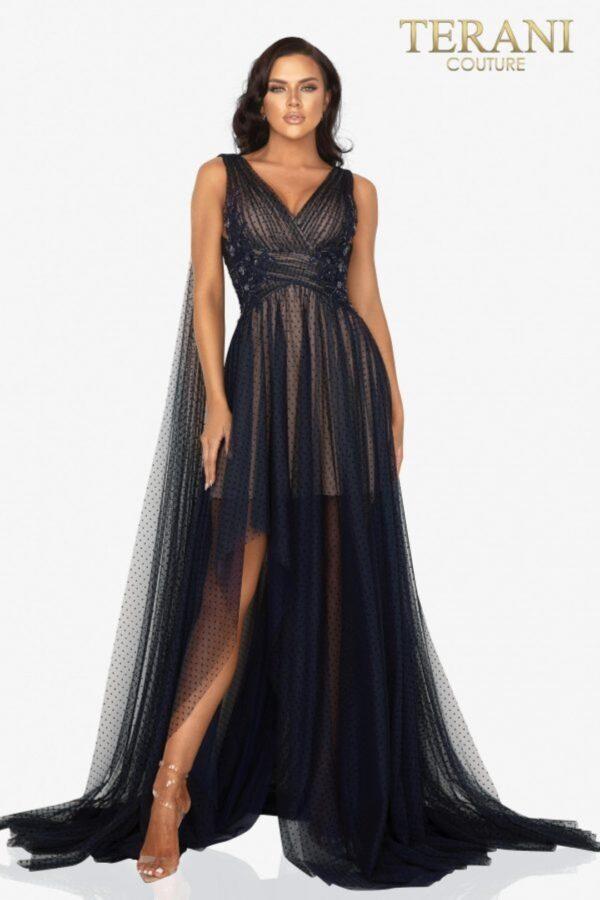 TERANI 2012E2273 BLACK NAVY