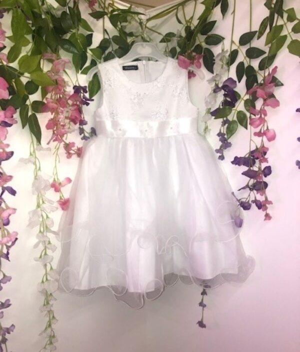 V357S WHITE DRESS