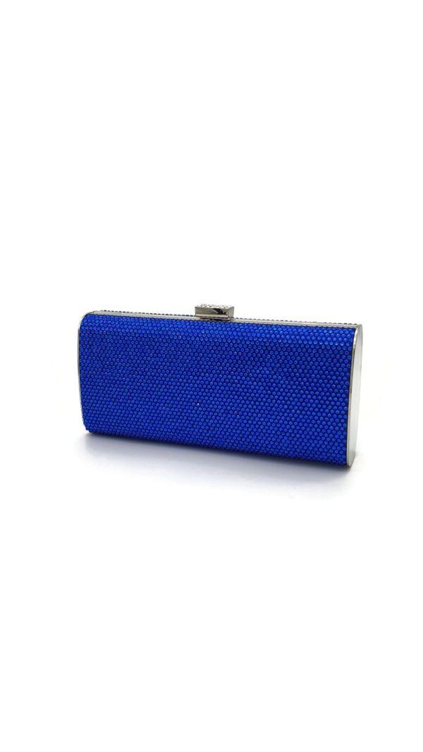 EVB1712 ROYAL BLUE CLUTCH