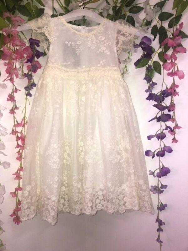POPPY DRESS IVORY