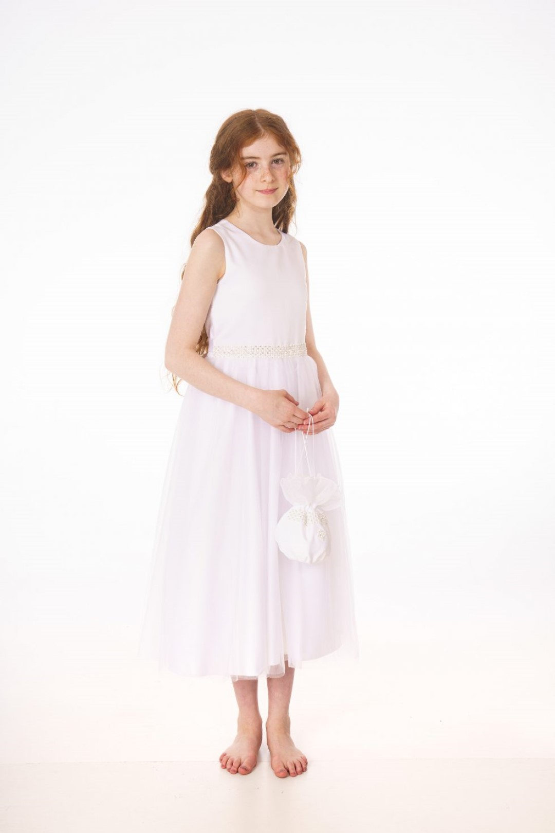 V361 DRESS WHITE